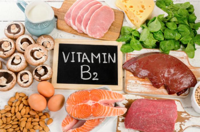 ビタミンB2を多く含む食品と飲み物とは