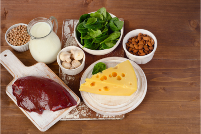 効率よくビタミンB2を摂るための食材とレシピ