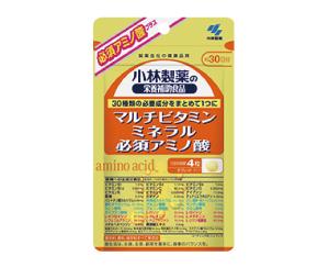 小林製薬 マルチビタミン ミネラル 必須アミノ酸